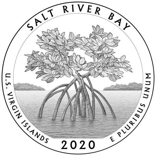 2020 Salt River Bay National Historical Park and Ecological Preserve Quarter and 5oz Coin Design
