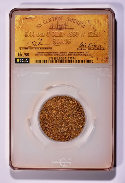 5 oz Cal Gold Rush gold dust