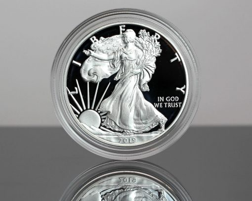 CoinNews photo of a 2019-S Proof American Silver Eagle - obverse