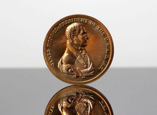 James Monroe Presidential Bronze Medal - Obverse