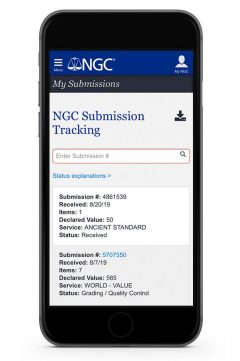 Submission Tracking Now In NGC App
