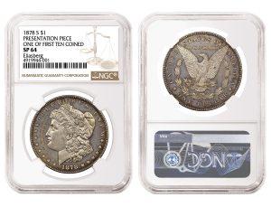 NGC Certifies One Of The First Ten Morgan Dollars Struck in San Francisco