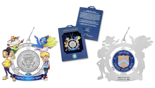 U.S. Mint product images Mighty Minters 2019 Ornament