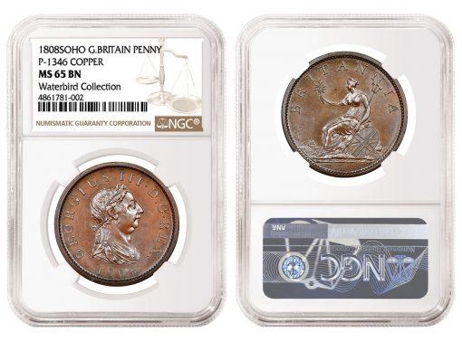 1808 Great Britain Soho P-1346 Penny