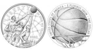 Designs for 2020 Basketball HOF Commemorative Coins