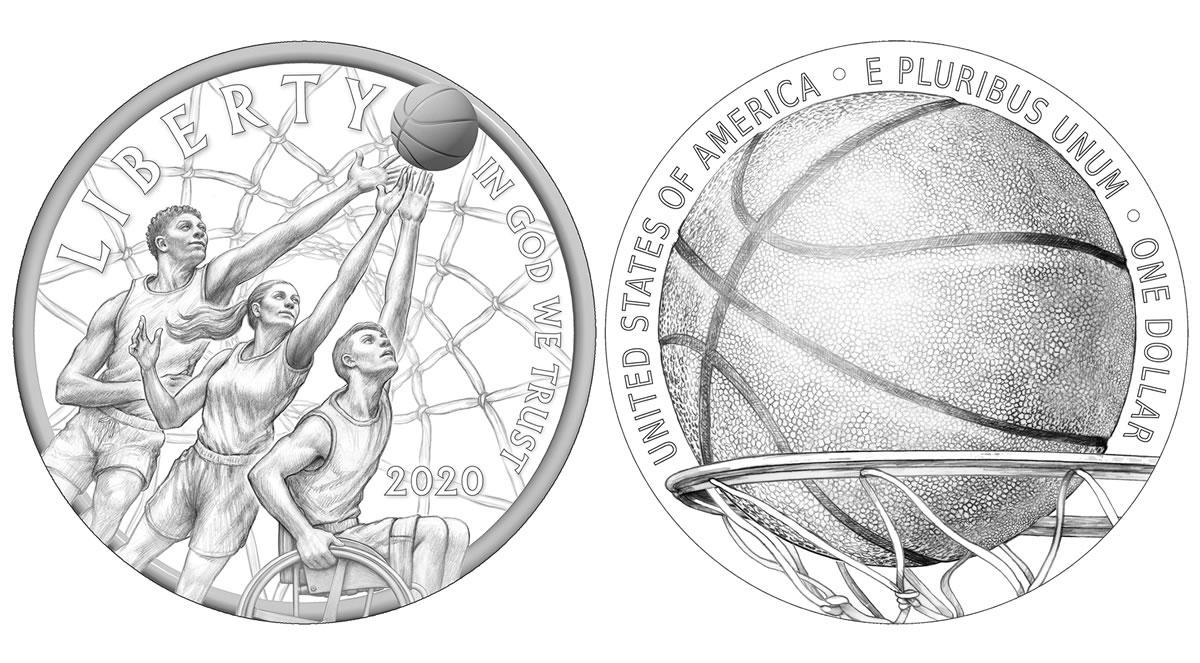 basketball hall of fame 2020 coin