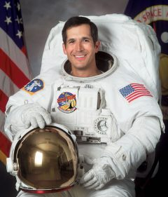 John Herrington, First Native American in Space, Will Autograph NGC Labels