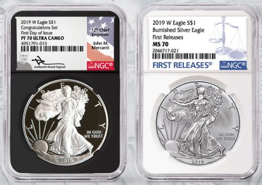 NGC-Certified American Silver Eagles - 10 million