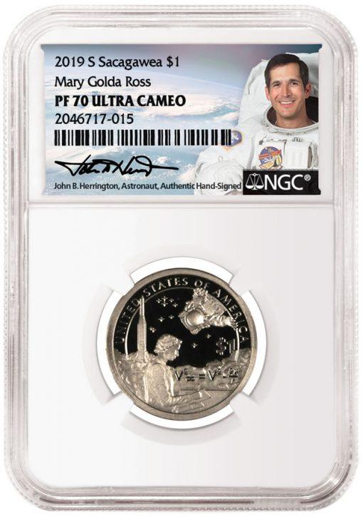NGC Coin Label Featuring John Herrington