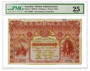 PMG Certified Over 200 Notes in Ibrahim Salem Collection Sale, Part II