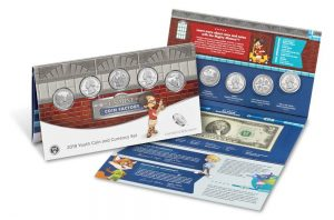 US Mint Sales: 2019 Youth Coin and Currency Set Debuts