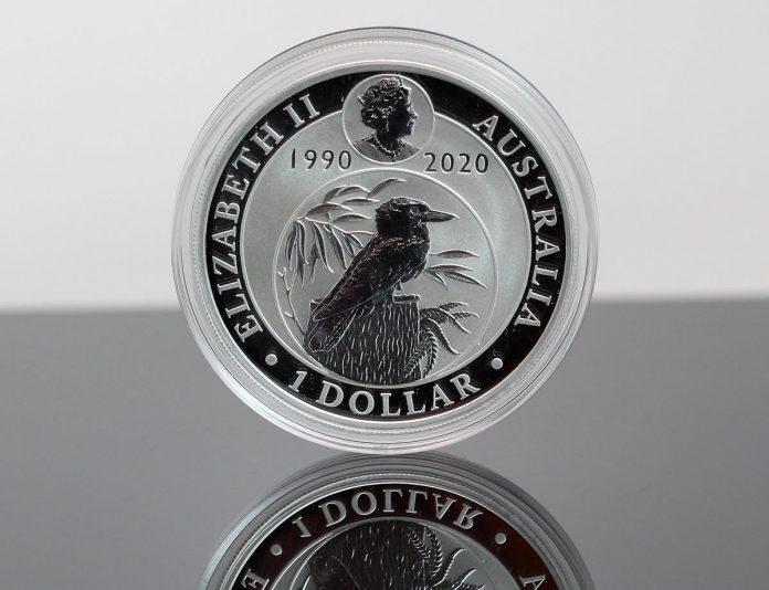 2020 Australian Kookaburra 1oz Silver Bullion Coin