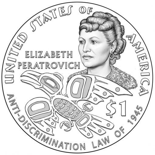 2020 Native American $1 Coin Design
