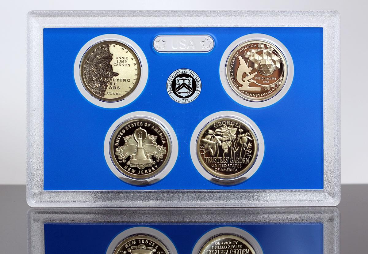 Trustees/' Garden $1 Dollar Coin 2019-D American Innovation Georgia
