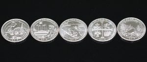 U.S. Mint 10-Coin Set of Circulating 2019 Quarters for $8.95