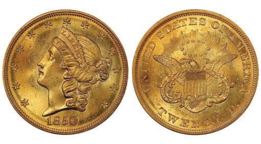 Lot 181: 1850 Double Eagle