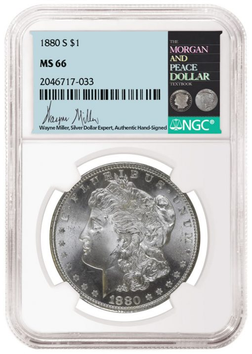 Wayne Miller NGC label and coin