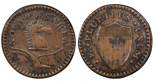 1786 New Jersey copper