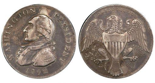 1792 Washington President Half Dollar pattern
