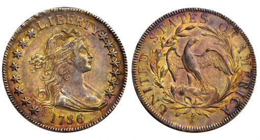 1796 Draped Bust Half Dollar
