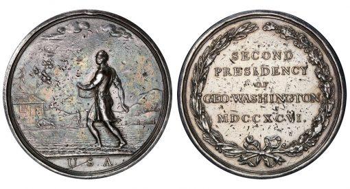 1798 Washington Seasons medal