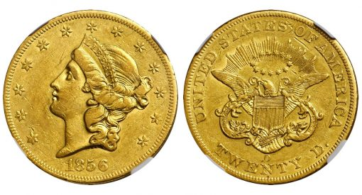 1856-O Liberty Head Double Eagle