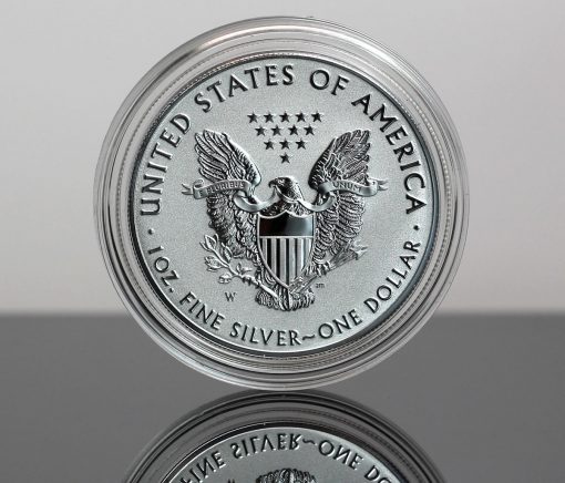 2019-W Enhanced Reverse Proof American Silver Eagle - Reverse