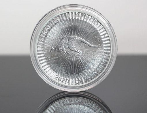 2020 Australian Kangaroo 1oz Silver Bullion Coin