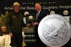Frank Church River of No Return Wilderness Quarter Launch Ceremony Highlights