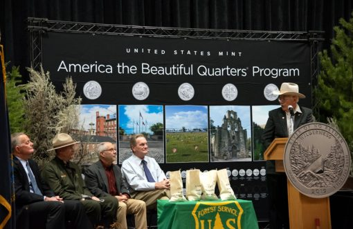 Frank Church River of No Return Wilderness Quarter Launch Ceremony speakers