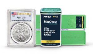 APMEX MintDirect American Silver Eagles To Qualify For PCGS FirstStrike Designation