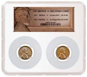 Lutes and Wing 1943 Bronze Lincoln Cents Brought Together Under One Owner