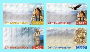 Public To Select Sacagawea Dollar 20th Anniversary NGC Label Design