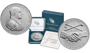 John Quincy Adams Presidential Silver Medal Released