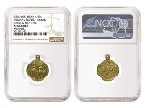 1605 India Gold Coin Auctioned For $383,000