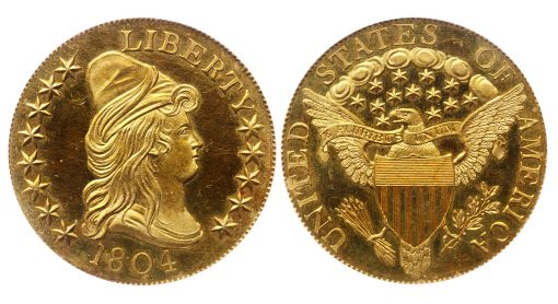 1804 $10 King of Siam