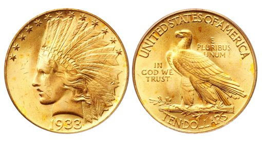 1933 $10 Gold Eagle