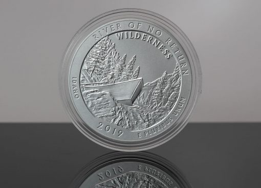 2019-P Frank Church River of No Return Wilderness Five Ounce Silver Uncirculated Coin