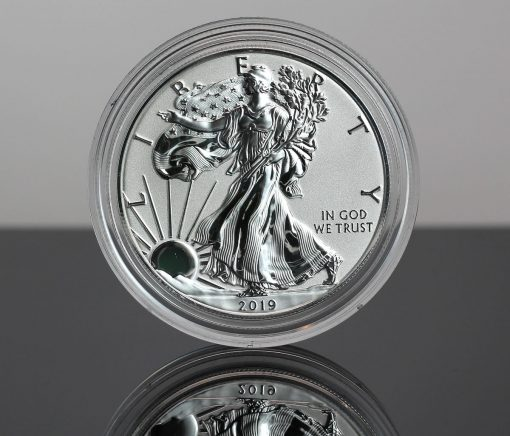 2019-S Enhanced Reverse Proof American Silver Eagle - Obverse