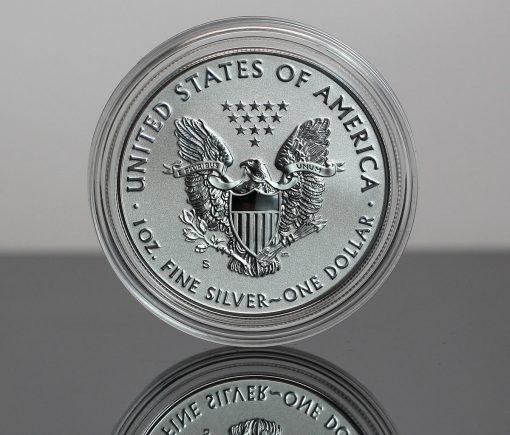 2019-S Enhanced Reverse Proof American Silver Eagle - Reverse