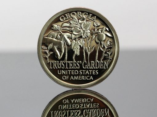 2019-S Proof Georgia American Innovation Dollar - Reverse