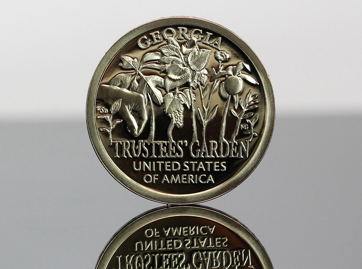 American Innovations Series US Dollar Coin Georgia