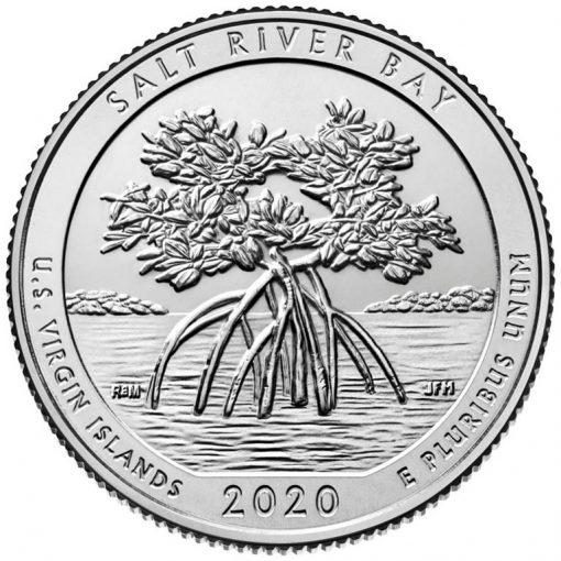 2020 Salt River Bay National Historical Park and Ecological Preserve Quarter