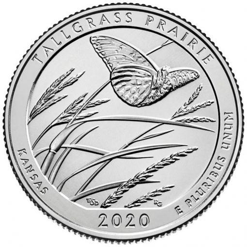 2020 Tallgrass Prairie National Preserve Quarter