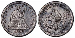 SS Central America Treasure Includes Nine Rare 1856-S/s Quarters