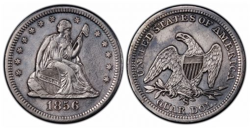SS Central America discovered1856 S over s PCGS XF45