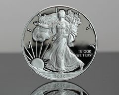 2020-W Proof American Silver Eagle - Obverse