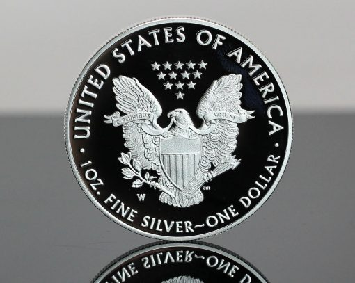 2020-W Proof American Silver Eagle - Reverse