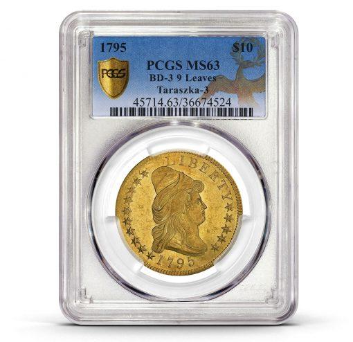 1795 9 Leaves $10