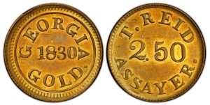Georgia-Struck 1830 Gold Coin Sells For Record $480,00 in Atlanta